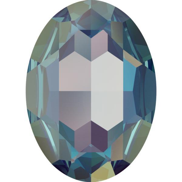 Swarovski 4127 Large Oval Fancy Stone Crystal Royal Blue DeLite 30x22mm