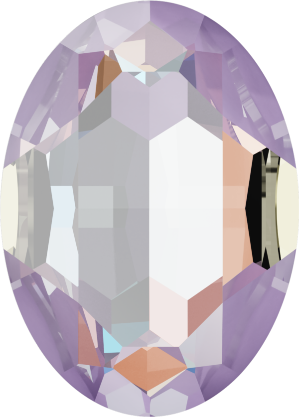 Dreamtime Crystal DC 4127 Large Oval Fancy Stone Crystal Lavender DeLite 30x22mm