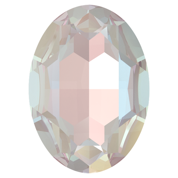 Dreamtime Crystal DC 4127 Large Oval Fancy Stone Crystal Dusty Pink DeLite 30x22mm
