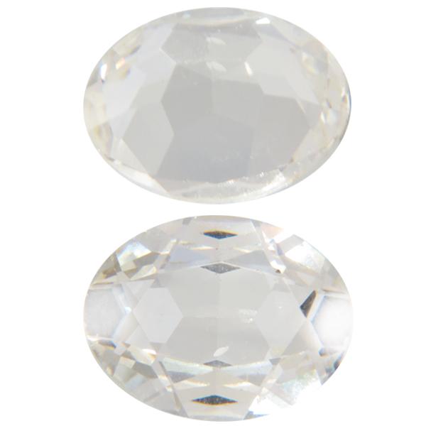 Swarovski 4140 Oval Fancy Stone Crystal (Unfoiled) 20x15mm