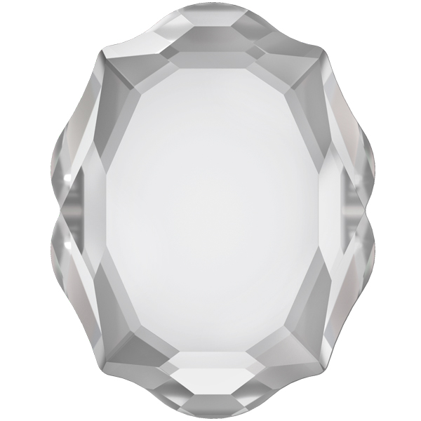 Swarovski 4142 Baroque Mirror Fancy Stone Crystal 14x11mm