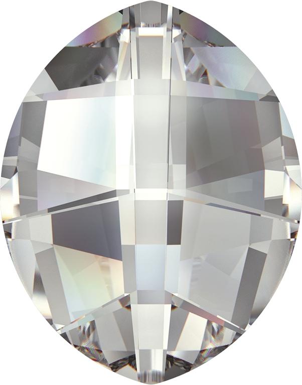 Swarovski 4224 Pure Leaf Fancy Stone Crystal 23x18mm