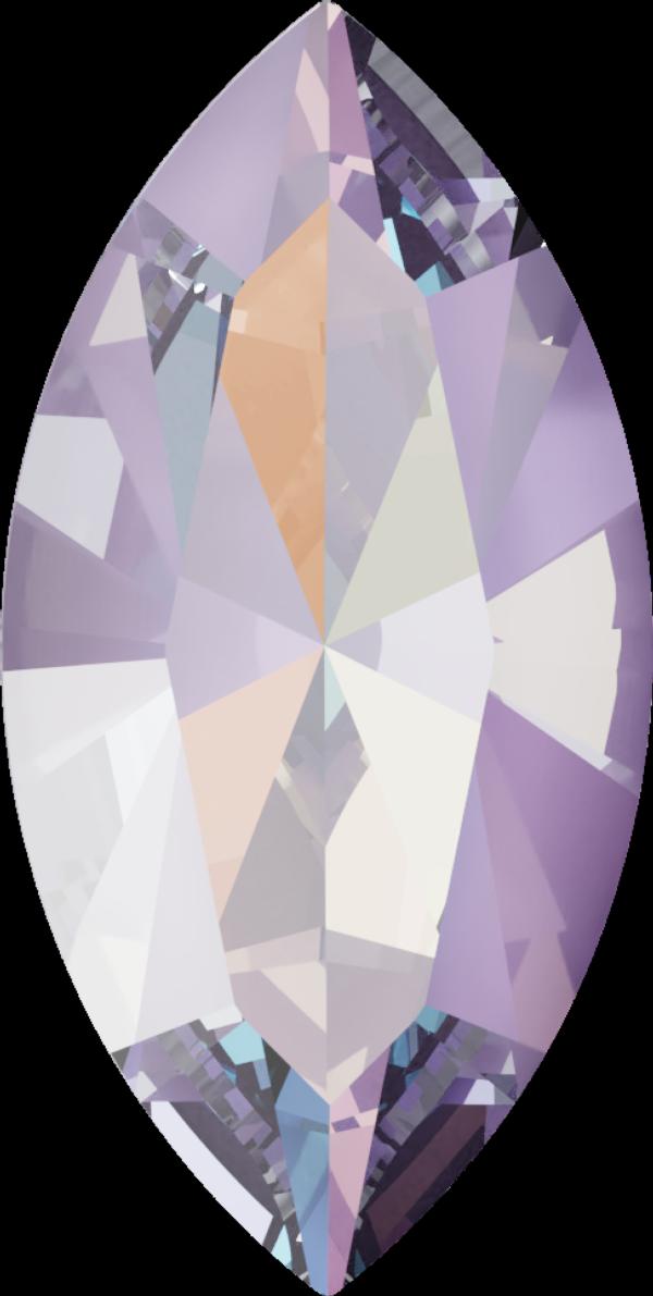 Swarovski 4228 Navette Fancy Stone Crystal Lavender DeLite 10x5mm
