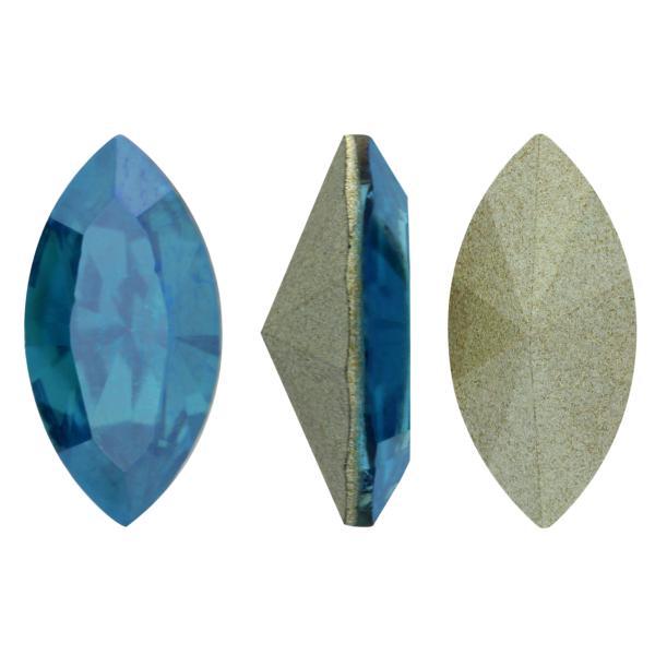 Swarovski 4228 Navette Fancy Stone Indicolite Moonlight 10x5mm