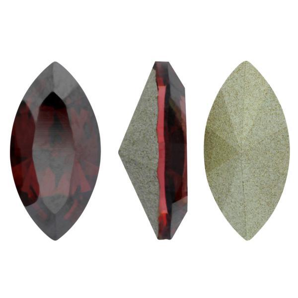 Swarovski 4228 Navette Fancy Stone Padparadscha Satin 10x5mm