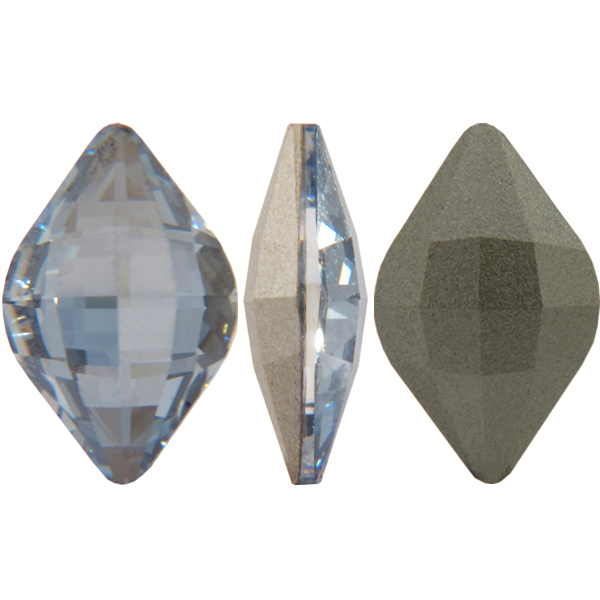 Swarovski 4230 Lemon Fancy Stone Crystal Blue Shade 19x12mm