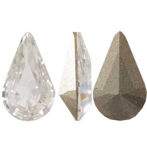 Swarovski 4328 Xilion Pear Fancy Stone Crystal 13x7.8mm