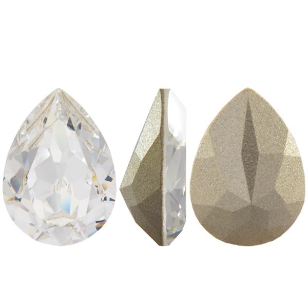 aacaaef094740 Swarovski 4320 Pear Shaped Fancy Stone Crystal 18x13mm