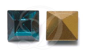 Swarovski 4401 Square Fancy Stone Blue Zircon 3mm