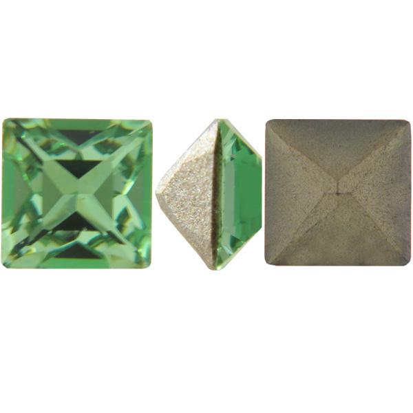 Swarovski 4428 Square Fancy Stone Peridot 3mm