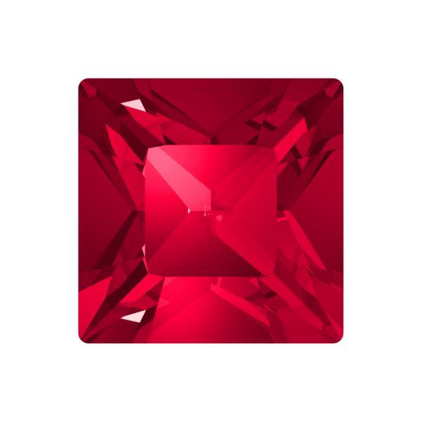 Swarovski 4428 Square Fancy Stone Scarlet 3mm