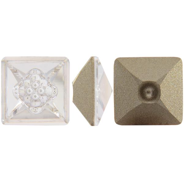 Swarovski 4481 Vision Square Fancy Stone Crystal 12mm
