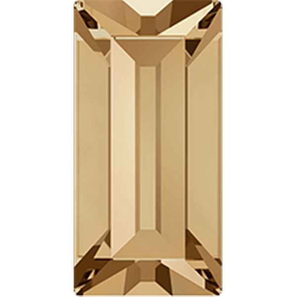 Dreamtime Crystal DC 4501 Baguette Fancy Stone Crystal Golden Shadow 4x2mm