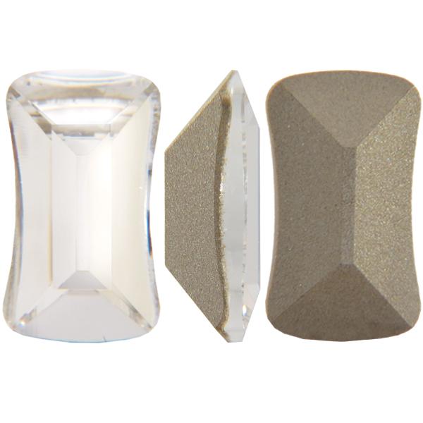 Swarovski 4505 Contour Baguette Fancy Stone Crystal 14x8mm