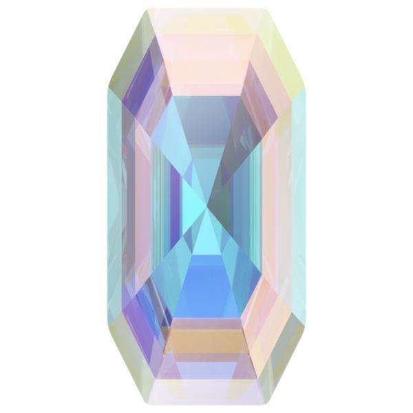 Swarovski 4595 Elongated Imperial Fancy Stone Crystal AB 20x10mm
