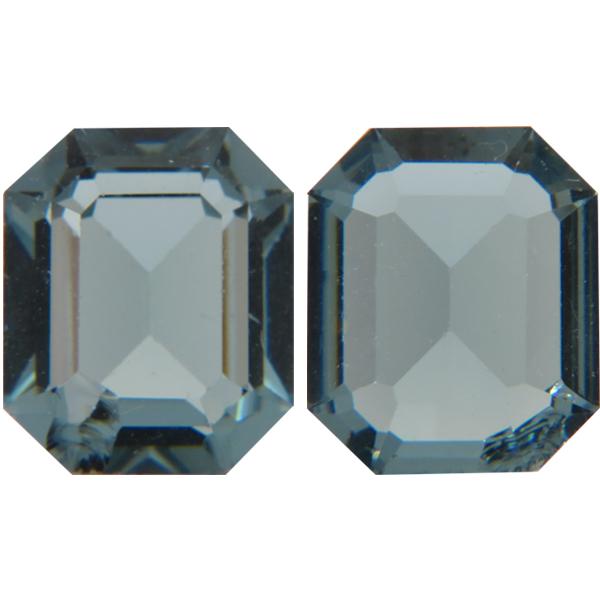 abf02f564929 Swarovski 4610 Rectangle Octagon Fancy Stone Indian Sapphire (Unfoiled)  12x10mm