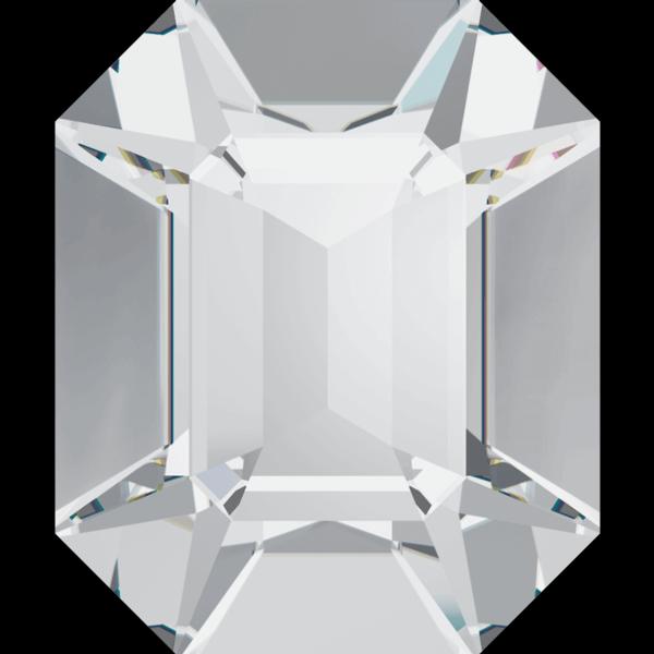 Swarovski 4600 Rectangle Octagon Fancy Stone Crystal GF 12x10mm