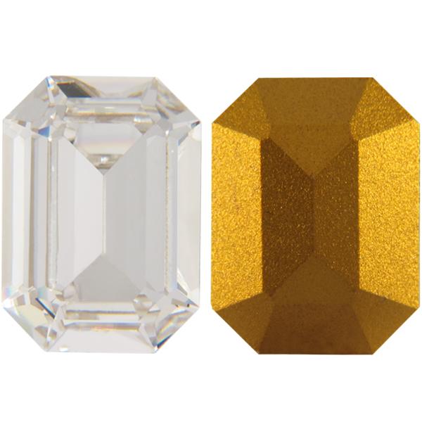 Swarovski 4610 Rectangle Octagon Fancy Stone Crystal 8x6.5mm
