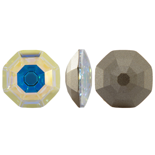 Swarovski 4678 Solaris Fancy Stone Crystal AB 8mm