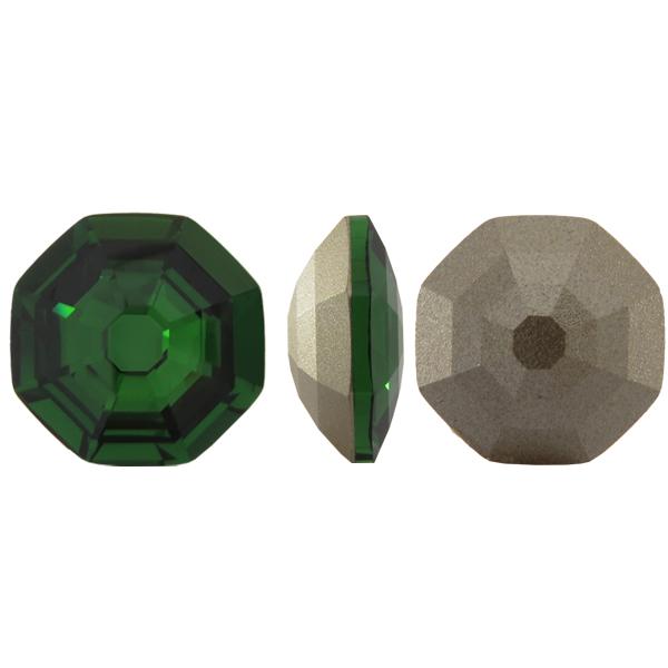 Swarovski 4678 Solaris Fancy Stone Dark Moss Green 23mm