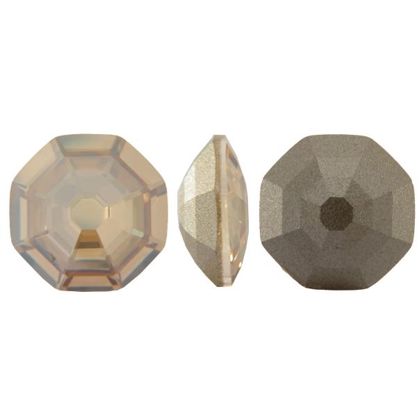 Swarovski 4678 Solaris Fancy Stone Crystal Golden Shadow 23mm