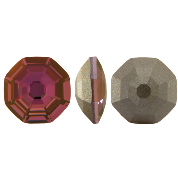 Swarovski 4678 Solaris Fancy Stone Crystal Lilac Shadow 8mm