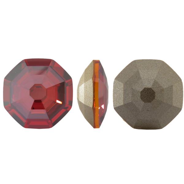 Swarovski 4678 Solaris Fancy Stone Crystal Red Magma 23mm