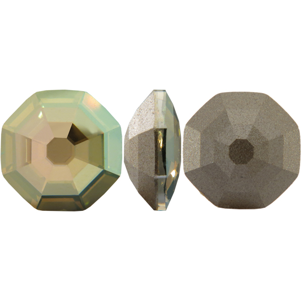Swarovski 4678 Solaris Fancy Stone Crystal Verde 14mm