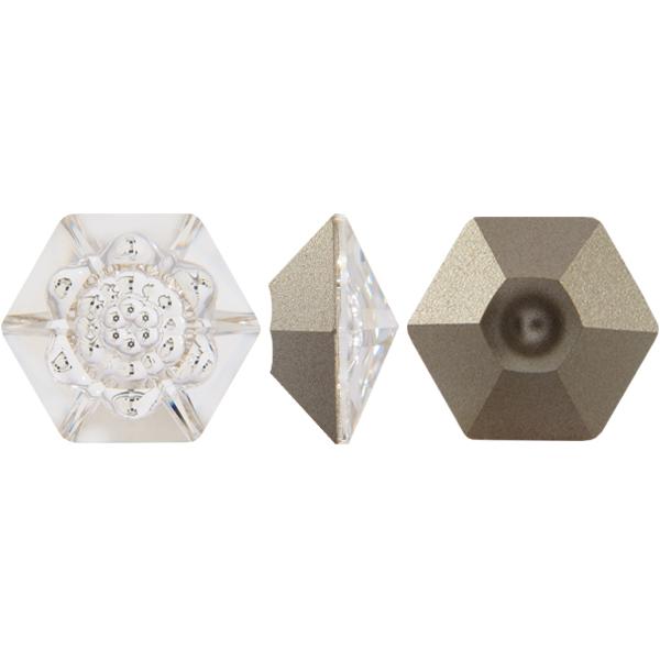 Swarovski 4681 Vision Hexagon Fancy Stone Crystal 18mm