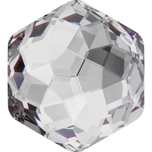 Swarovski 4683 Fantasy Hexagon Fancy Stone Crystal 7.8 x 8.7mm