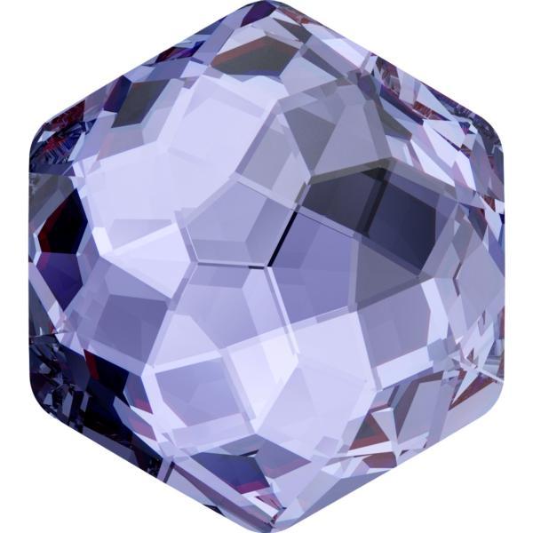 Dreamtime Crystal DC 4683 Thin Hexagon Fancy Stone Tanzanite 10x11.2mm