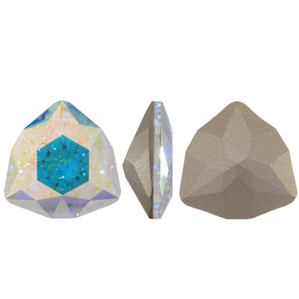Swarovski 4706 Trilliant Fancy Stone Crystal AB 24mm
