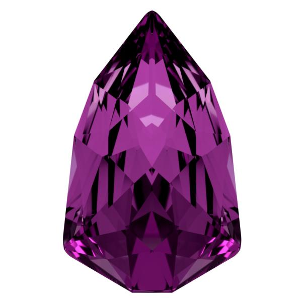 Swarovski 4707 Slim Trilliant Fancy Stone Amethyst 13.6x8.6mm