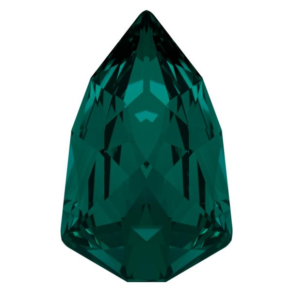 Swarovski 4707 Slim Trilliant Fancy Stone Emerald 24x15.2mm