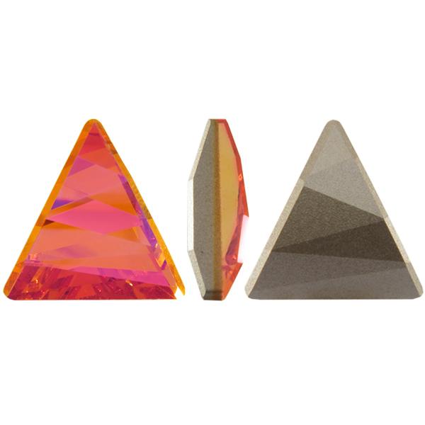 Swarovski 4717 Delta Fancy Stone Crystal Astral Pink 15.5mm