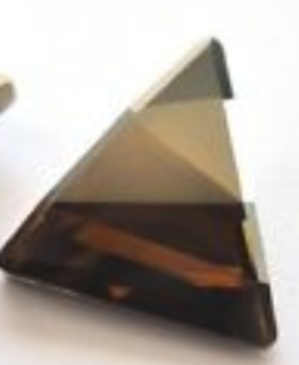 Swarovski 4717 Delta Fancy Stone Crystal Bronze Shade 15.5mm