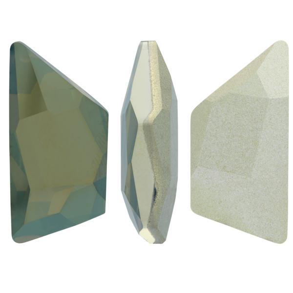 Swarovski 4719 Graphic Trapeze Fancy Stone Crystal Bronze Shade 19x9mm
