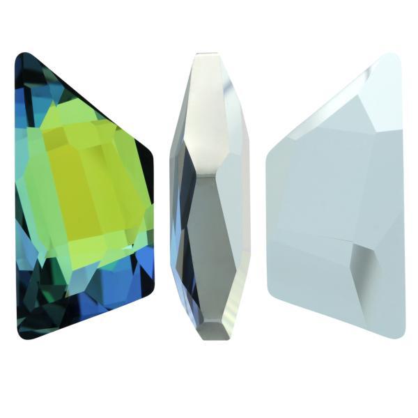 Swarovski 4719 Graphic Trapeze Fancy Stone Crystal Sahara 19x9mm