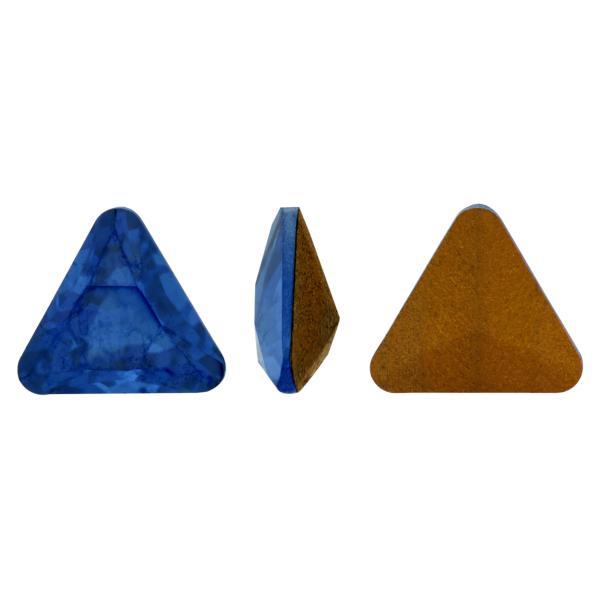 Swarovski 4722 Triangle Fancy Stone Sapphire Mystique 4mm