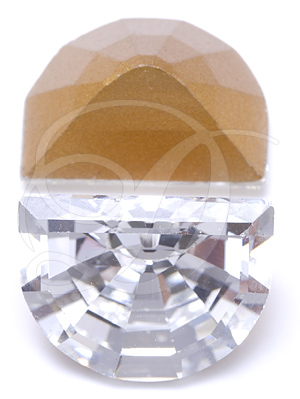 Swarovski 4728 Vintage Moon Shape Fancy Stone Crystal 16x12mm
