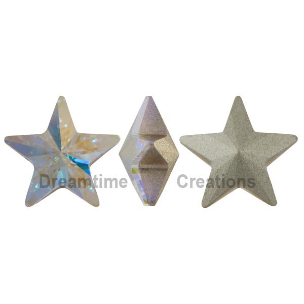 Swarovski 4745 Star Fancy Stone Crystal AB 5mm