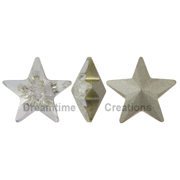 Swarovski 4745 Star Fancy Stone Crystal 5mm