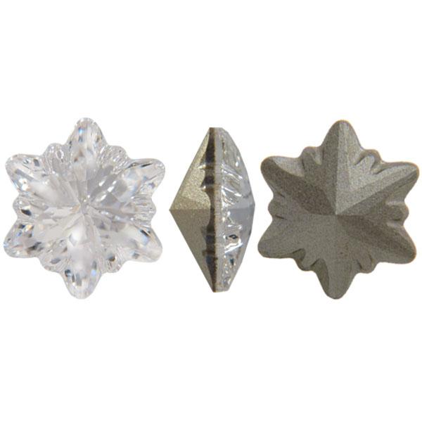 Swarovski 4753 Edelweiss Fancy Stone Crystal 14mm