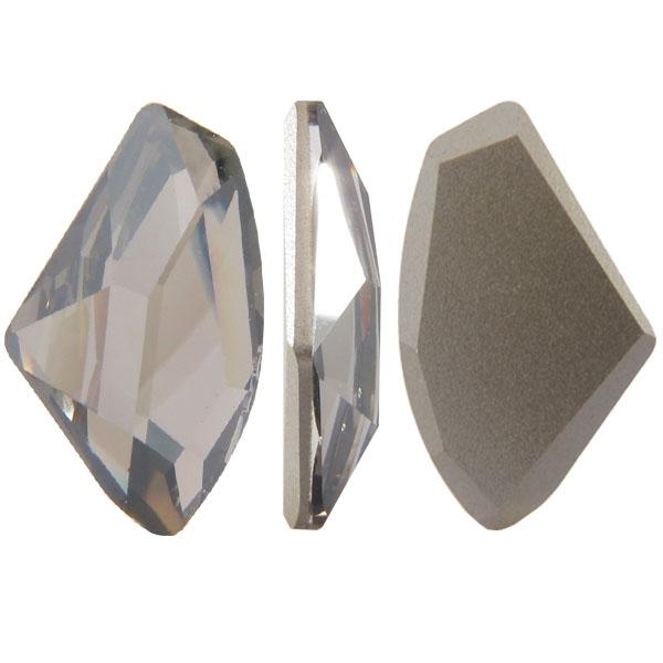 Swarovski 4756 Galactic Flat Fancy Stone Crystal Satin 27x16mm