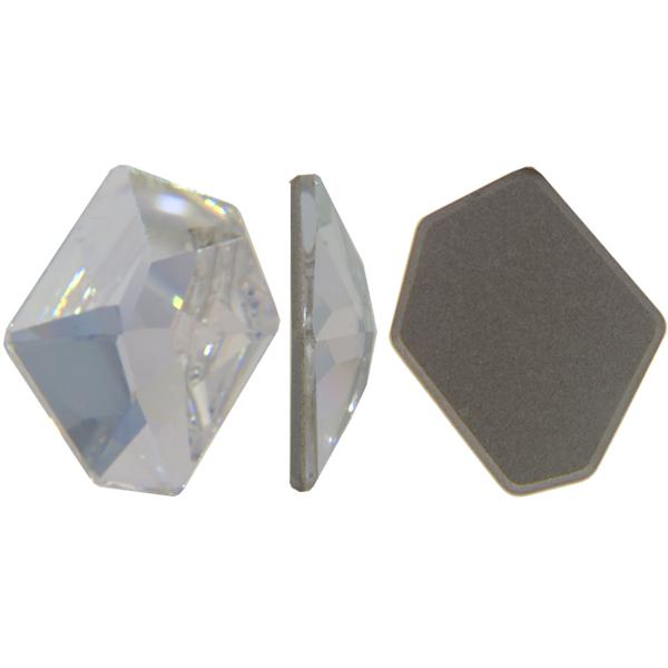 Swarovski 4759 Flat Back Cosmic Fancy Stone Crystal Moonlight 28x24mm