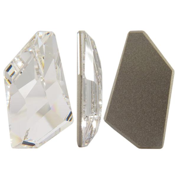 Swarovski 4766 De-Art Flat Fancy Stone Crystal 28x15.5mm