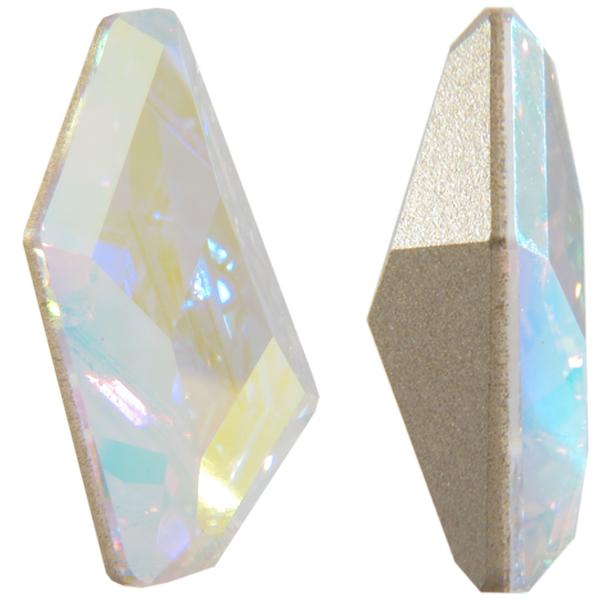 Swarovski 4767 De-Art Fancy Stone Crystal AB 23x13mm