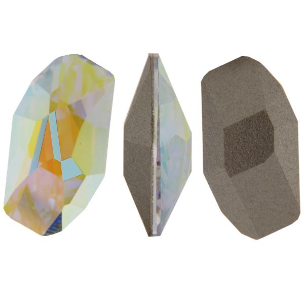 Swarovski 4773 Meteor Fancy Stone Crystal AB 28x15mm