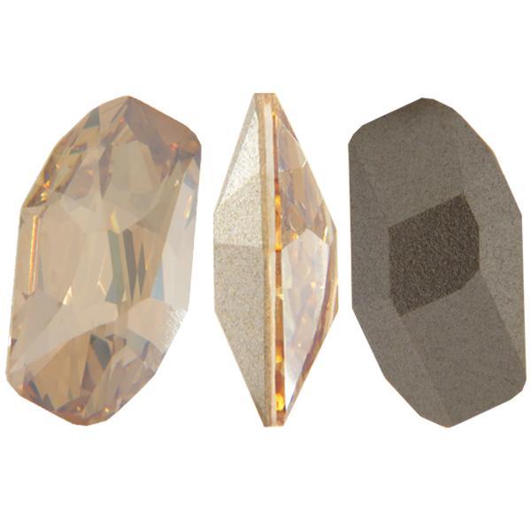Swarovski 4773 Meteor Fancy Stone Crystal Golden Shadow 18x9.5mm