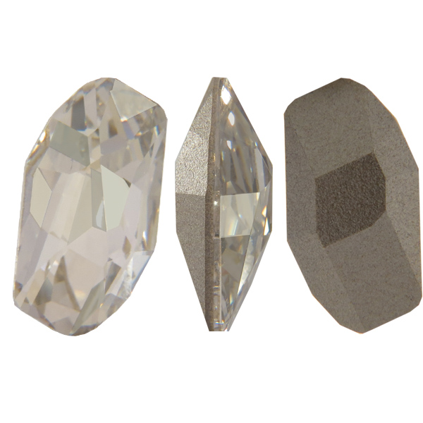 Swarovski 4773 Meteor Fancy Stone Crystal Silver Shade 18x9.5mm